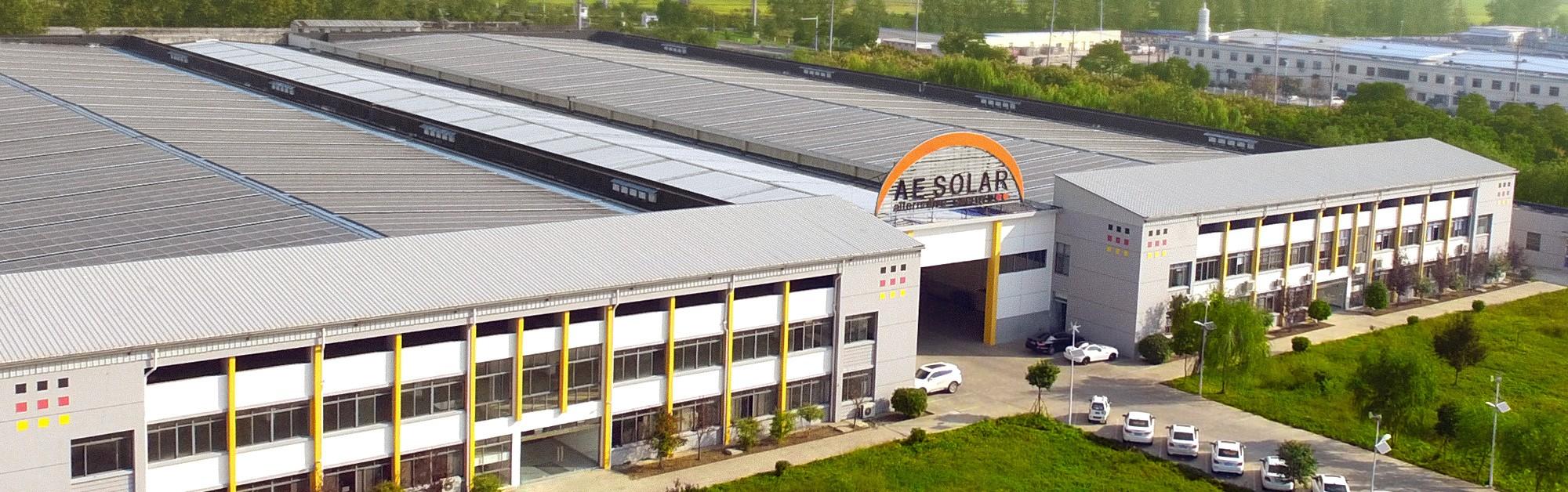 nhà máy sản xuất pin năng lượng mặt trời AE Solar