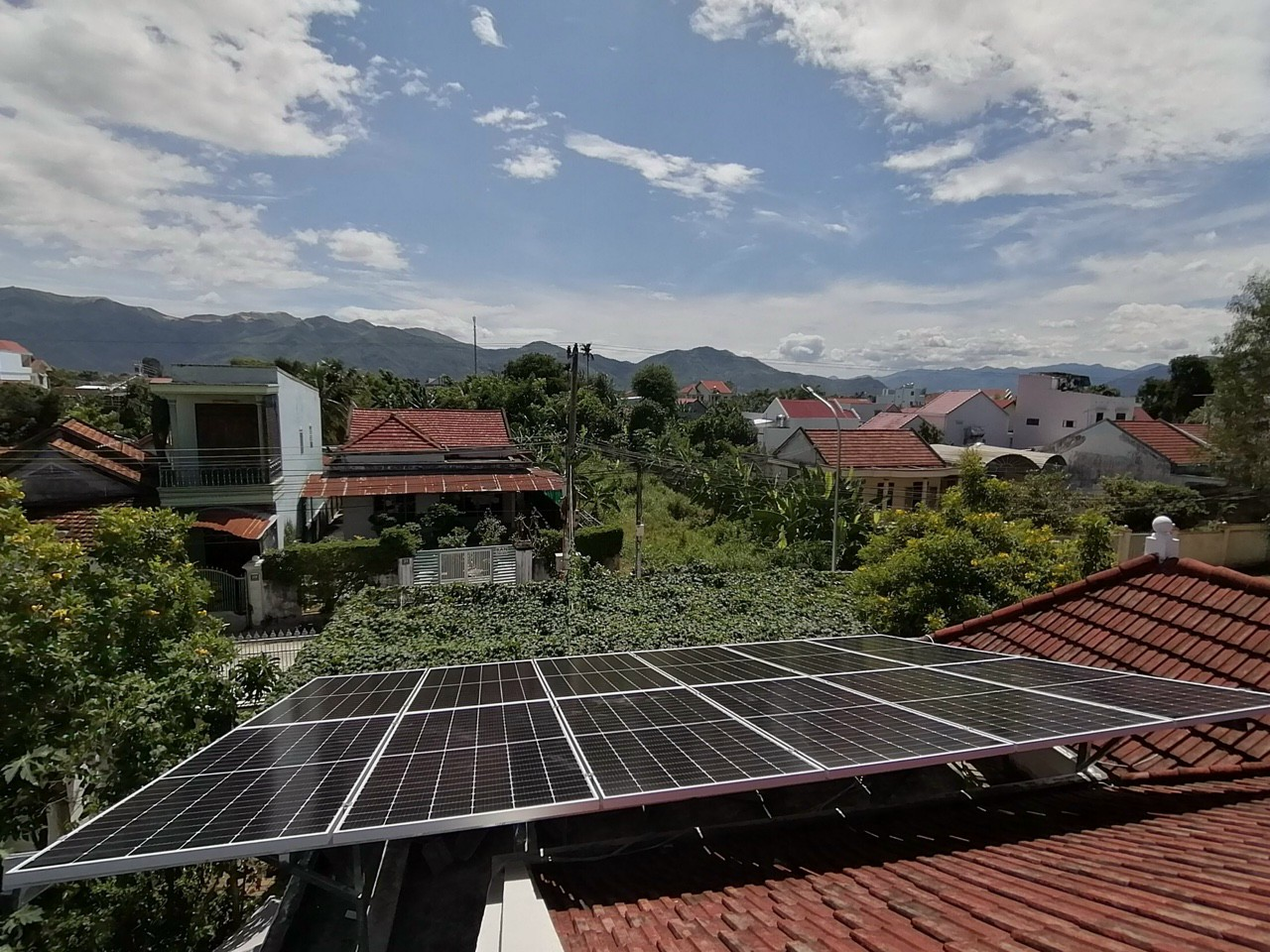 Hệ thống điện năng lượng mặt trời không sinh ra khí thải