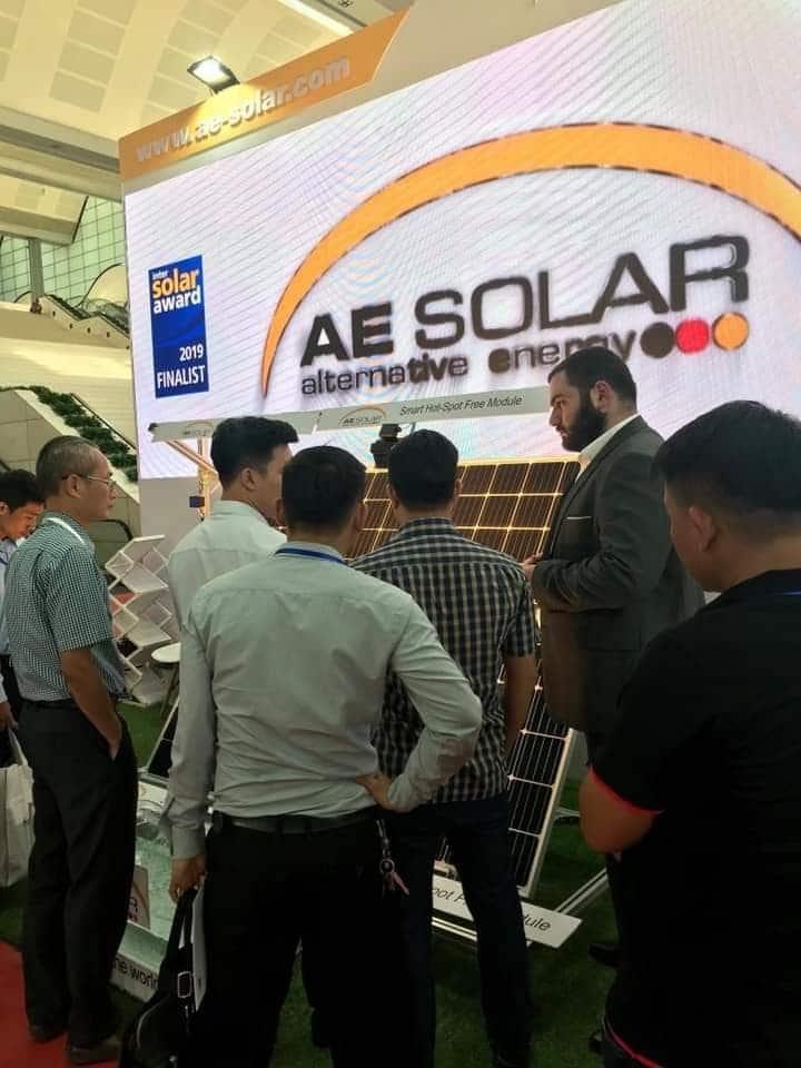 Hội thảo về Pin năng lượng mặt trời AE Solar