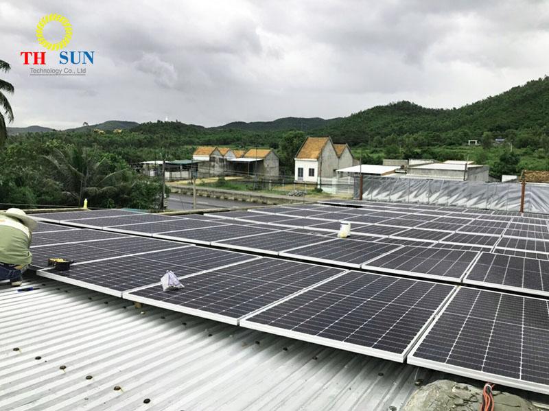 Hệ pin AE solar tại Vạn Giã