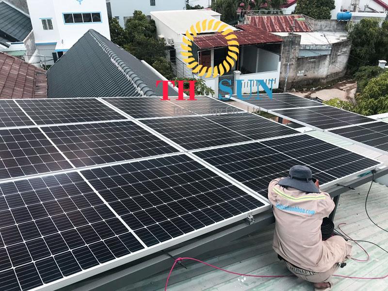 điện mặt trời hòa lưới 9kw