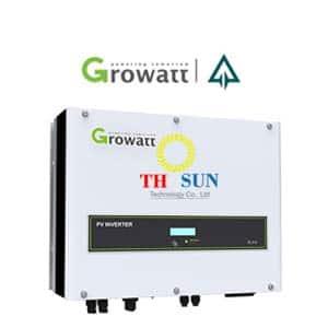 Bộ biến tần hòa lưới Growatt 10kw